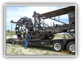 Antique Trencher with Operator Kenny Osburne